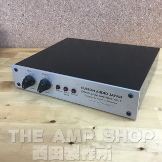 Custom Audio Japan(CAJ) Effects Loop Interface ver.1