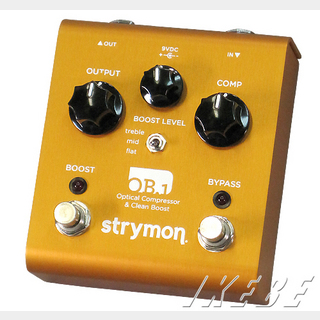strymon OB.1 【Optical Compressor & Clean Boost】