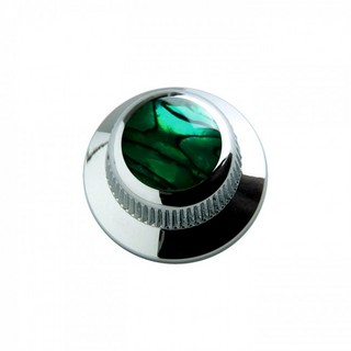 Q-PartsUFO KNOB TYPE [KCU-0713/Green Abalone Shell in Chrome] 【展示品処分特価】