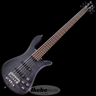 "Warwick German Team Built Streamer Stage I 5st ""Flame Maple"" (Nirvana Black Transparent Satin)【特価】"