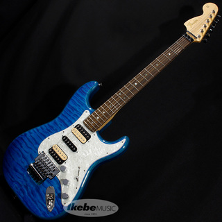 Fender Made in Japan Michiya Haruhata Stratocaster (Caribbean Blue Trans/ Rosewood)