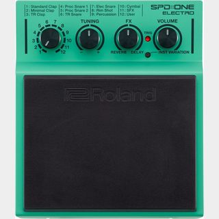 "Roland 【新製品】SPD::ONE ""ELECTRO"" Percussion Pad【送料無料】"