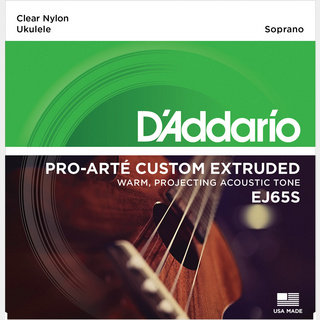 D'AddarioEJ65S Pro-Arte Custom Extruded Nylon ダダリオ ウクレレ弦【池袋店】