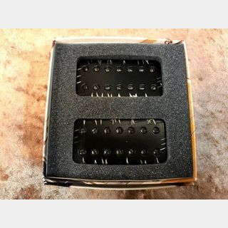 Bare Knuckle PickupsAftermath 7 String Set -Covers black battle worn- 【7弦用ハムバッカーセット】【送料無料】