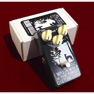 NINEVOLT PEDALS I Was A Wolf In The Forest Distortion 【アウトレット特価】【送料無料!7/11(土) & 7/12(日) 】