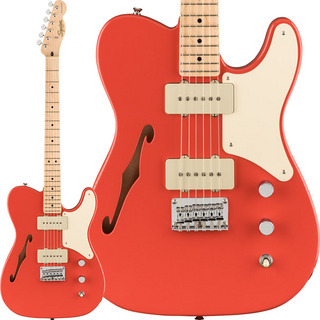 Squier by Fender Paranormal Carbronita Telecaster Thinline (Fiesta Red)