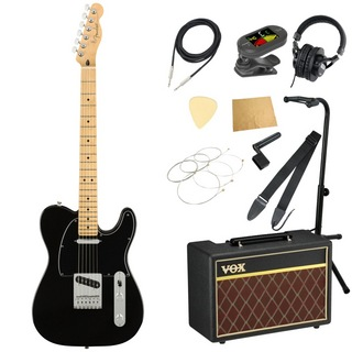 Fender Player Telecaster MN Black エレキギター VOXアンプ付き 入門11点セット