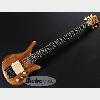 "WarwickCustom Shop Thumb Bass NT 5st""AAAA Koa Top""[#M162753-17] 【特価】"