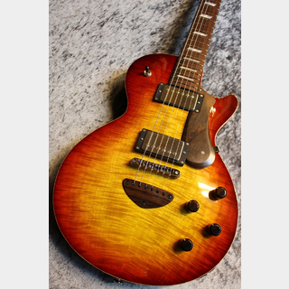 Bizen CTM Grain Arched Top Hard Rock Maple Top Jacaranda FB Cuban Mahogany Neck Shadow Burst #200593
