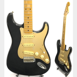 Fender Japan ST57-55 Black 1984年~1987年製 Eシリアル ANODIZED PICKGUARD