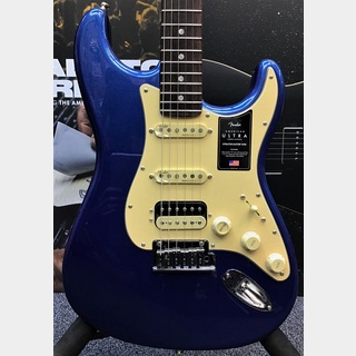 Fender American Ultra Stratocaster HSS -Cobra Blue/Rosewood-【US20047910】【期間限定FE620プレゼント!!】