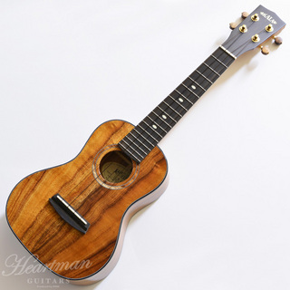KALA 3KOA-CG Gloss Hawaiian Koa Concert [Made in USA]