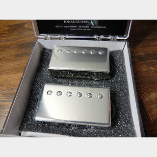 LOLLAR PICKUPS Low Wind Imperial Set 4-Con Nickel