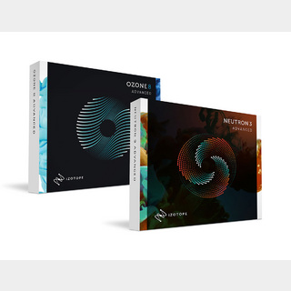 iZotopeMix & Master Bundle (Advanced)(Ozone8 Adv + Neutron3 Adv) 【ダウンロード版】
