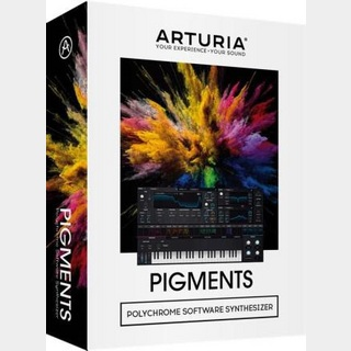 Arturia Pigments ウェーブテーブル/ヴァーチャルアナログ・ソフトウェアシンセサイザー【WEBSHOP】