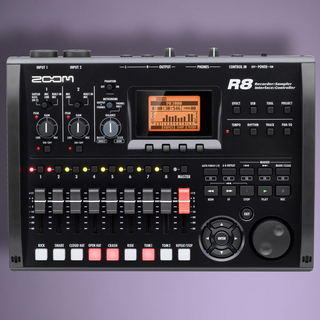 ZOOM R8【Recorder】【Interface】【Controller】【Sampler】【MTR】