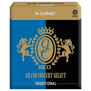 D'Addario Woodwinds/RICO RICO GRAND CONCERT Traditional B♭クラリネット用 2 【福岡パルコ店】