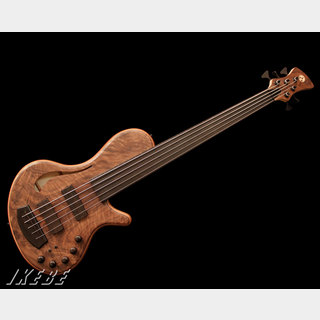 Adamovic The Hollow 5st Fretless (Flamed Walnut Top)