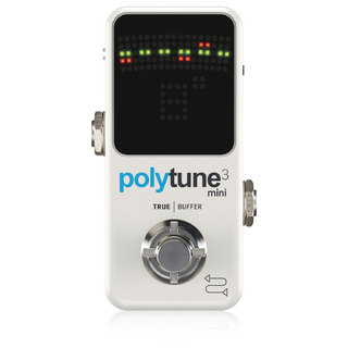 tc electronicPOLYTUNE 3 MINI ペダルチューナー