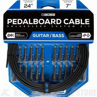 BOSS  BCK-24 Pedalboard cable kit, 24connectors, 7.3m