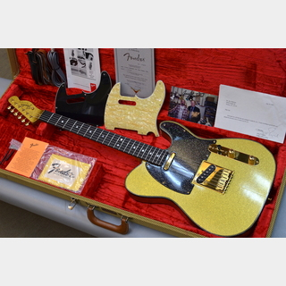 Fender Custom Shop Master Built Custom Doublebound 60s Gold Sparkle Telecaster Built by Fred Stuart 【1993年製 USED】