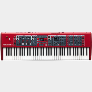 CLAVIA  Nord Stage 3 HP76 ステージ・キーボード【お取り寄せ商品】【池袋店】