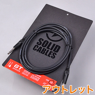 SOLID CABLES GT Series S/S 10f ギターシールド 【アウトレット】