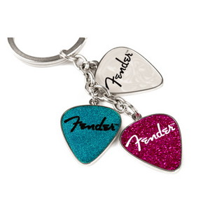 Fender Picks Keychain Pink Turq Pearl キーチェーン 【WEBSHOP】