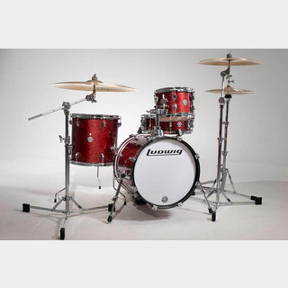 "Ludwig LC179X025 [BREAKBEATS OUT FIT / AHIMIR ""?UESTLOVE"" THOMPSON Collaboration (Wine Red Sparkle)]"