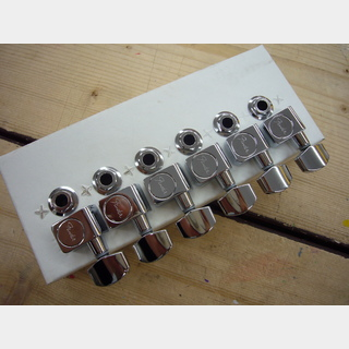 FenderAmerican Standard Stratocaster/Telecaster Tuning Machines クローム ギター用ペグ