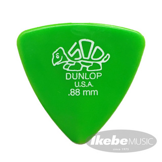Jim Dunlop411B Derlin Triangle Pick ×10枚セット (0.88mm/グリーン)