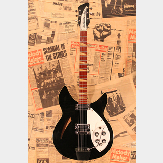 "Rickenbacker1968 365OS ""Double Bound"" Jetglo"