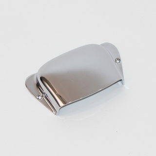 ALLPARTS HARDWARE 6598 Chrome Bridge Cover for Precision Bass ブリッジカバー