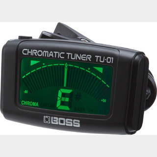 BOSS TU-01  (Clip-on Chromatic Tuner)