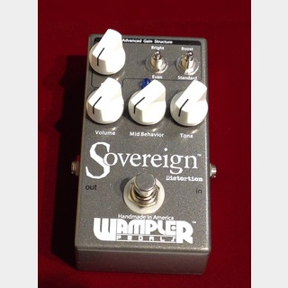 Wampler Pedals Sovereign 【中古SALE・20%OFF】【1月20日まで送料無料】