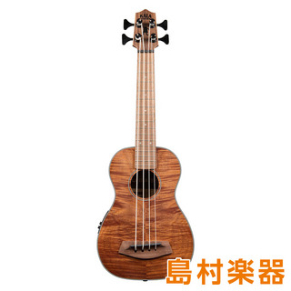 KALA UBASS-EM-FSRW ウクレレベース EXOTIC MAHOGANY U BASS W/ ROUND WOUNDS