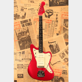 "Fender 1964 Jazz Master ""Candy Apple Red with Green Guard"""