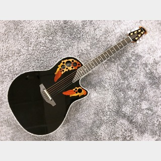 Ovation American LX Custom Elite Deep Contour C2078LX-5 Black 【アウトレット特価】