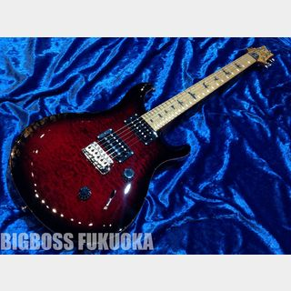 Paul Reed Smith(PRS) SE Custom 24 Roasted Maple Limited 【Fire Red】
