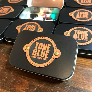Rattlesnake Cable TONE BLUE Pick Tin