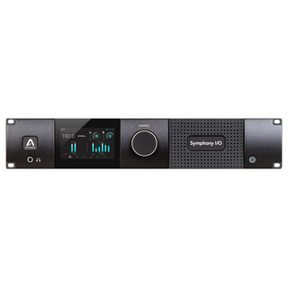 APOGEE Symphony I/O MKII Thunderbolt Chassis with 16 Analog In + 16 Analog Out オーディオインターフェイス
