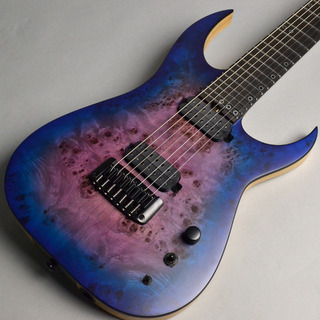 SCHECTER AD-KM-7 MK-Ⅲ Keith Merrow Signature Model Blue Crimson