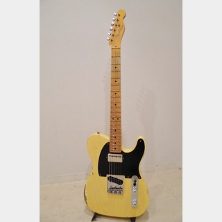 Fender Custom Shop 1951 HS Tele Relic Limited Edition, Maple Fingerboard / Aged Nocaster Blonde
