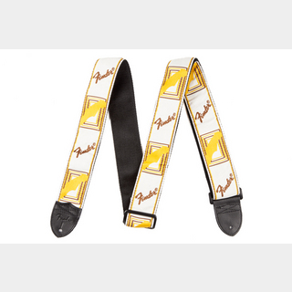 FenderMonogram Strap White/Brown/Yellow【心斎橋店】