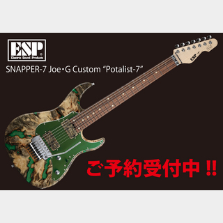 "ESP SNAPPER-7 Joe・G Custom ""Potalist-7"""