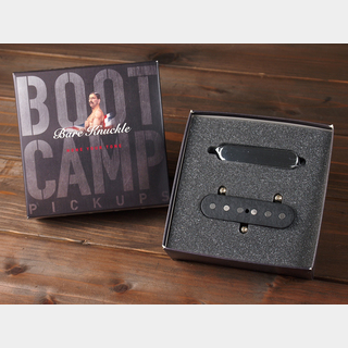 "Bare Knuckle Pickups""Boot Camp Series""  True Grit / Tele Single Coil Set / Covered Chrome"