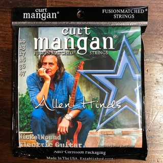 Curt Mangan Allen Hinds 10-47 Signature Set