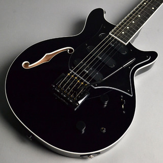 Kz Guitar Works Kz One Semi-Hollow DSD10 Kahler Plain Maple Jet-Black with F-hole
