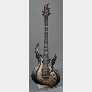 ESP FRX-CTM FR Burled Maple 【See Thru Black Sunburst】