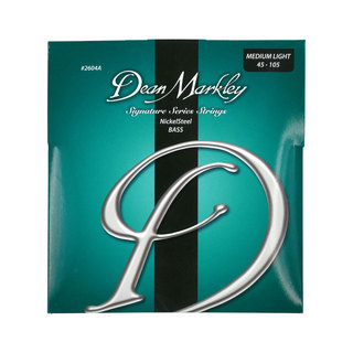 Dean Markley2604A Medium Light Nickel Steel 45-105 ベース弦